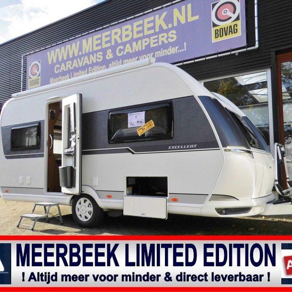 De gebroeders Meerbeek hebben een hele serie Hobby 460 UFe Limited Edition modellen kunnen inkopen met korting oplopend tot € 4.368,= Een all-in prijs, helemaal klaar voor 't kampeerseizoen 2020. Profiteer nu op=op