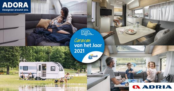 De ANWB Caravan van het jaar 2021: De Adria Adora is de grote winnaar !