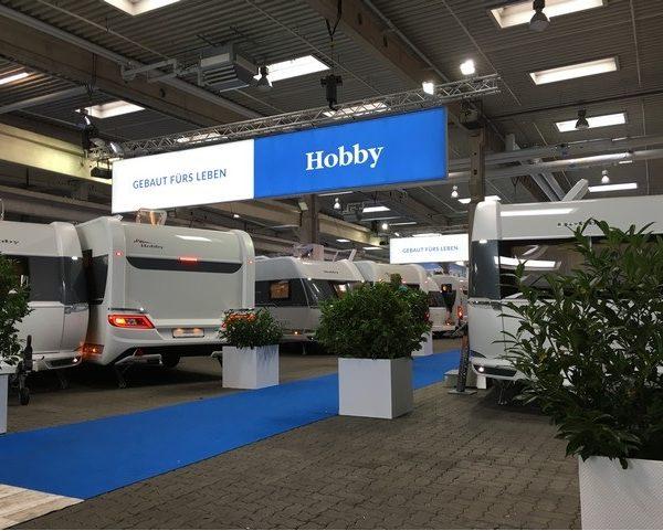 Unieke Hobby 460 UFE Meerbeek Limited Edition 2019 modellen met voordeel tot € 3.170,= !