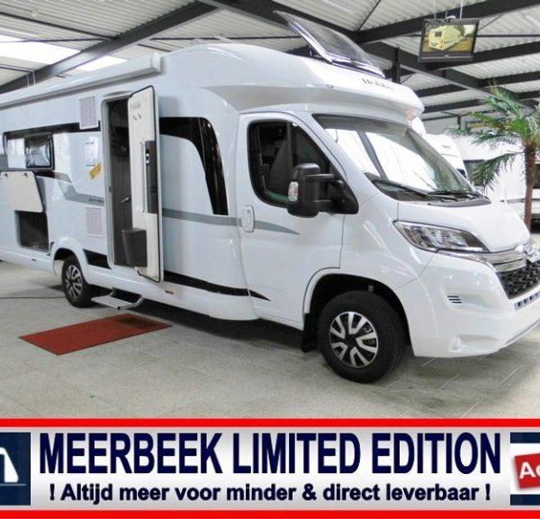 Nieuwe Meerbeek Limited Edition campers ! Direct uit voorraad leverbaar !