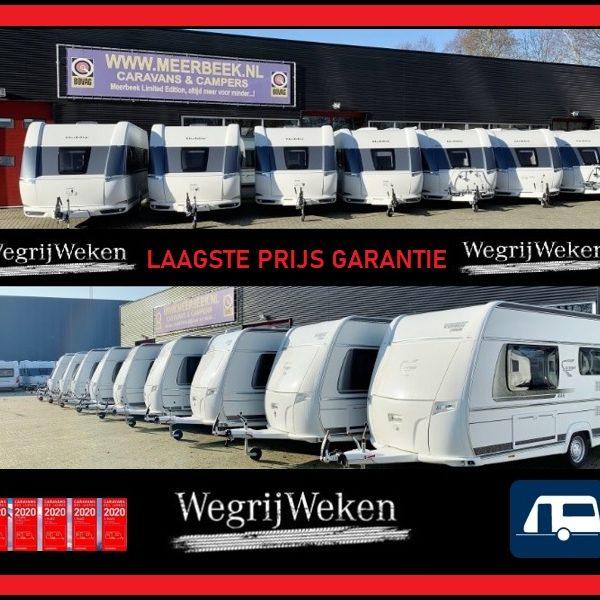 Wegrijweken van 7 juli t/m 18 juli bij Meerbeek met korting oplopend tot € 20.000,= NU ALLE OPTIES VOOR 0,=