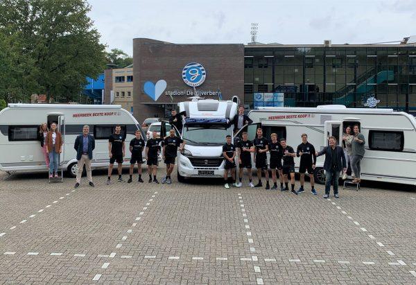 Meerbeek Caravans & Campers verlengt sponsorcontract met de Graafschap 2021-2022